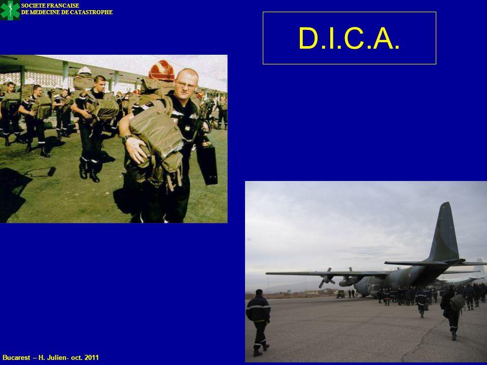 D.I.C.A. Bucarest – H. Julien- oct. 2011 SOCIETE FRANCAISE