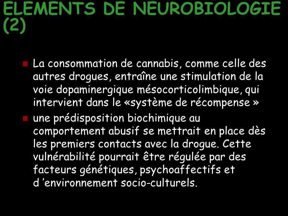 ELEMENTS DE NEUROBIOLOGIE (2)