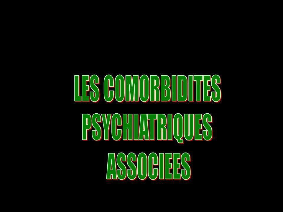 LES COMORBIDITES PSYCHIATRIQUES ASSOCIEES