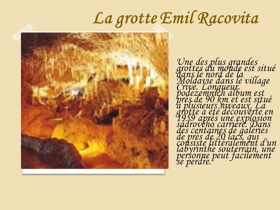 La grotte Emil Racovita