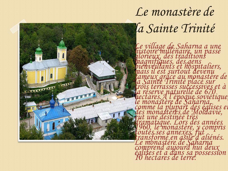 Le monastère de la Sainte Trinité