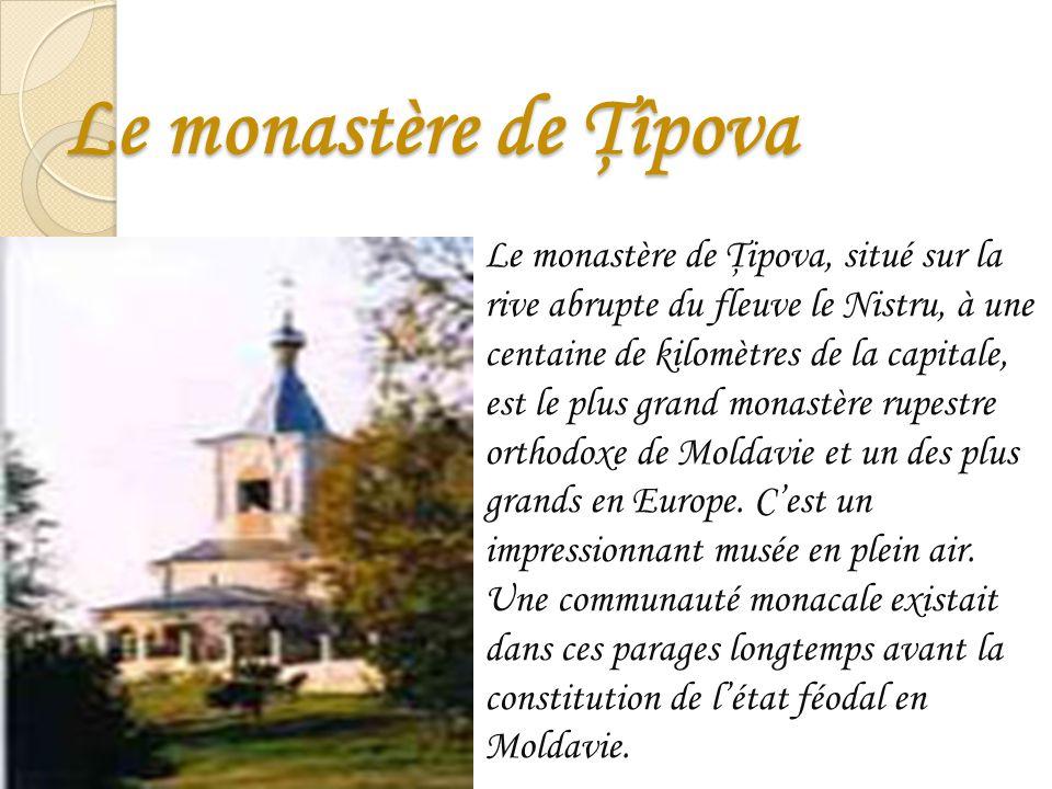 Le monastère de Ţîpova