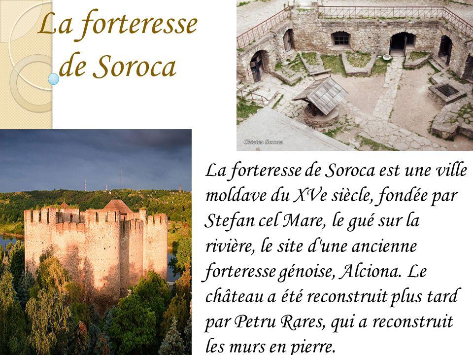 La forteresse de Soroca