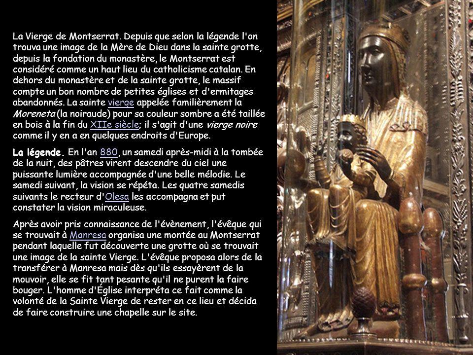 La Vierge de Montserrat