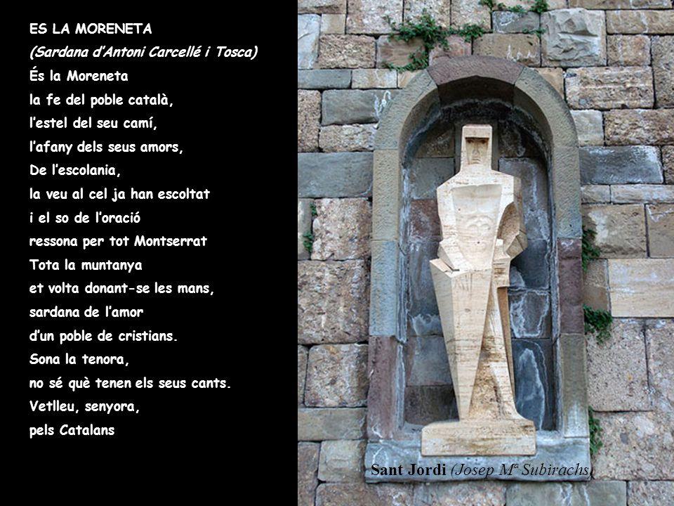 Sant Jordi (Josep Mª Subirachs)