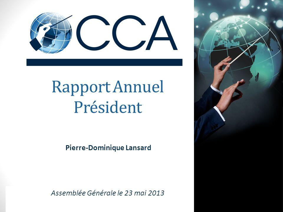 Rapport Annuel Président