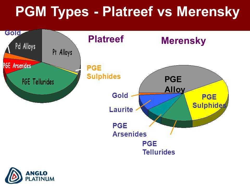PGM Types - Platreef vs Merensky