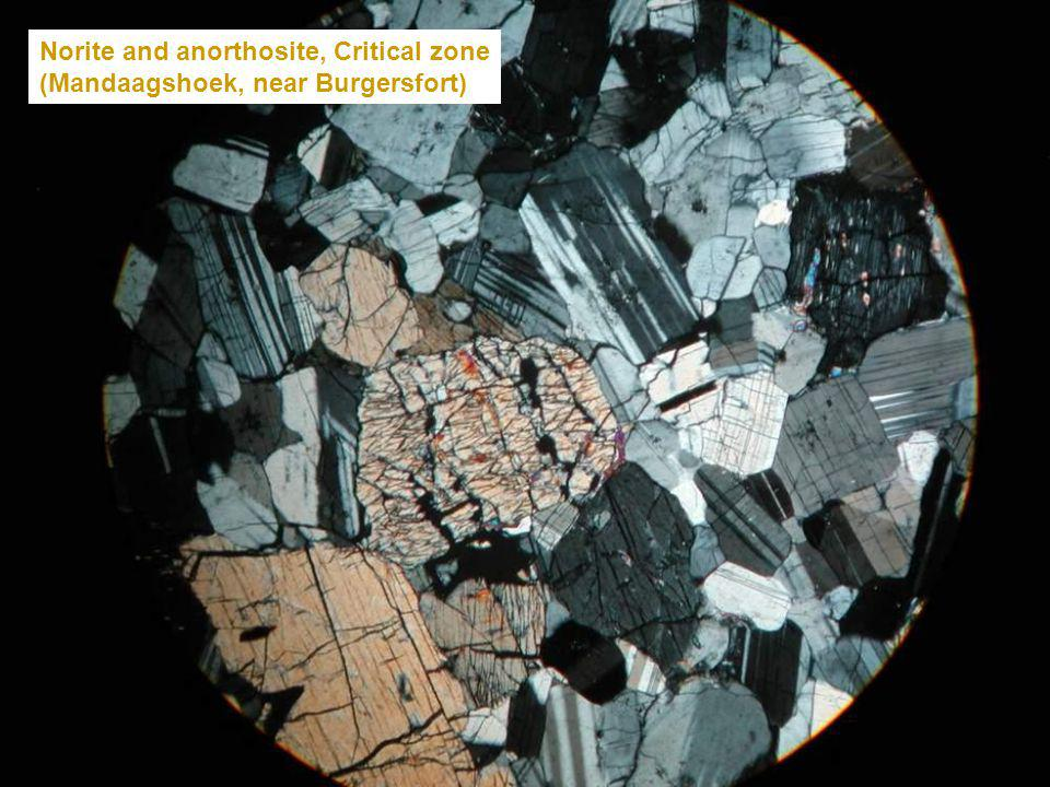 Norite and anorthosite, Critical zone