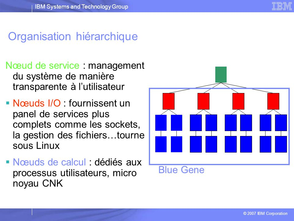 Organisation hiérarchique