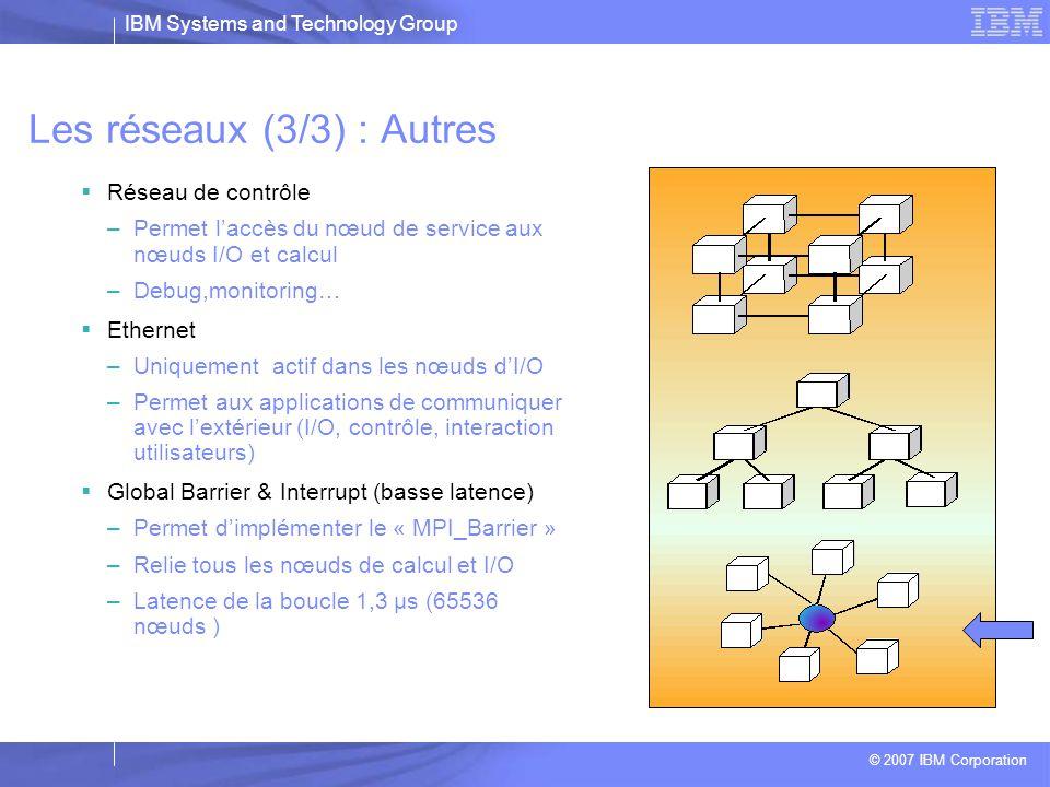Les réseaux (3/3) : Autres