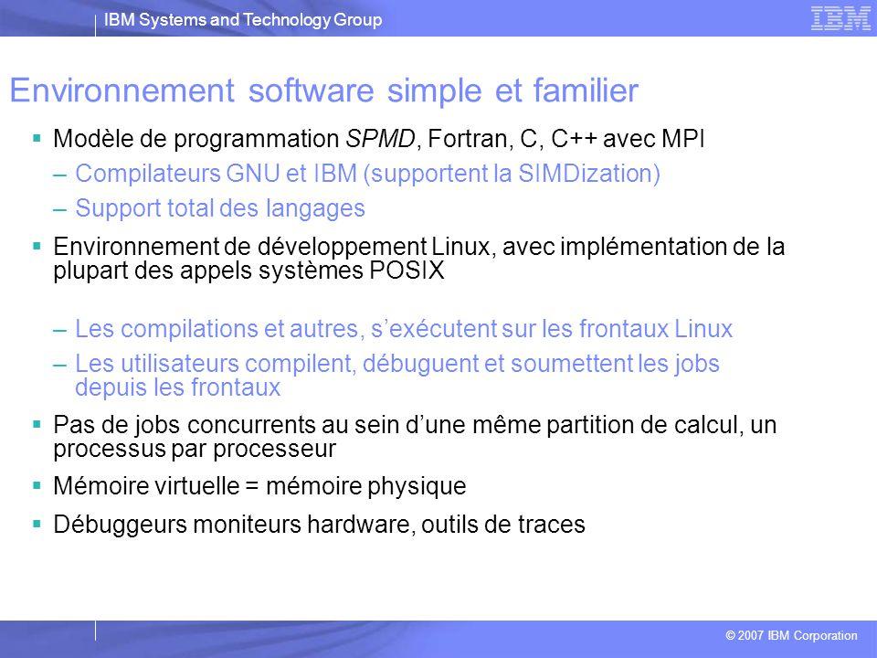 Environnement software simple et familier