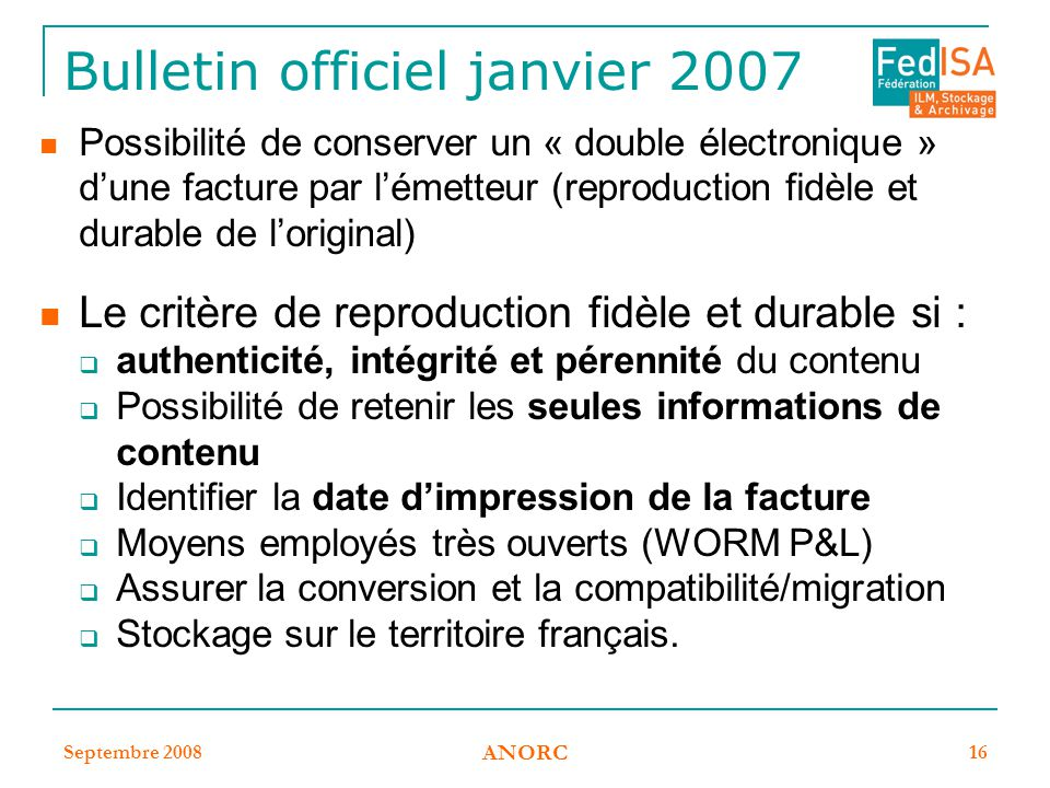 Bulletin officiel janvier 2007