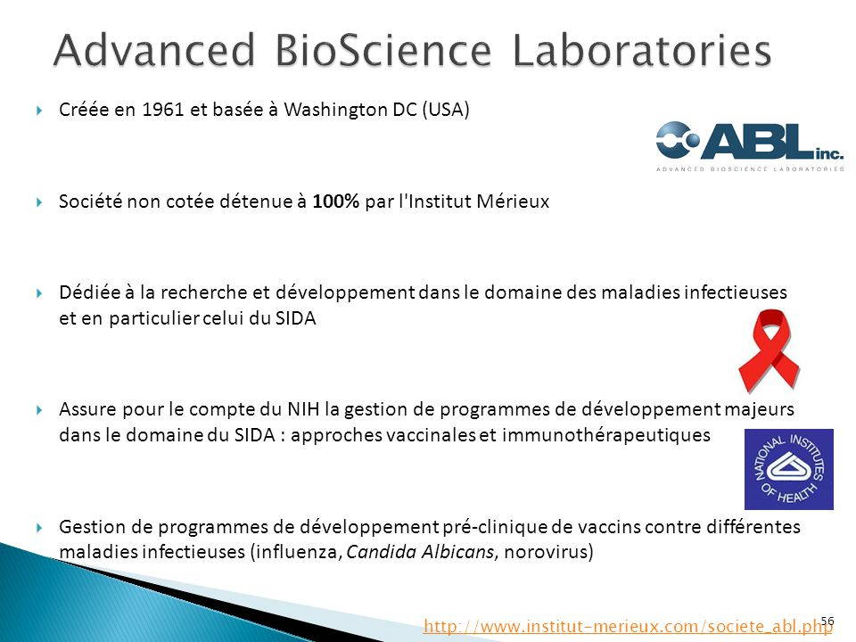 Advanced BioScience Laboratories