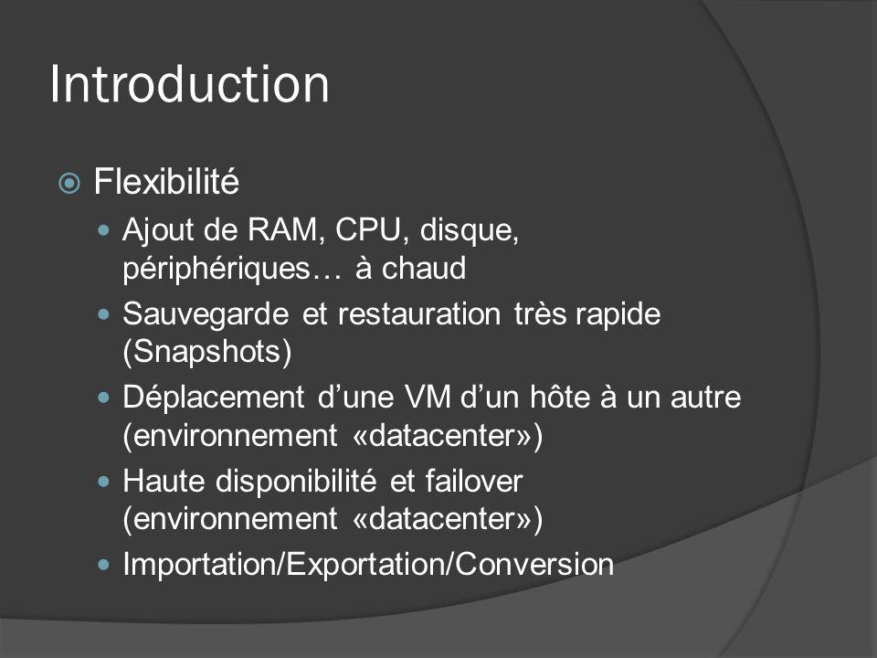 Introduction Flexibilité