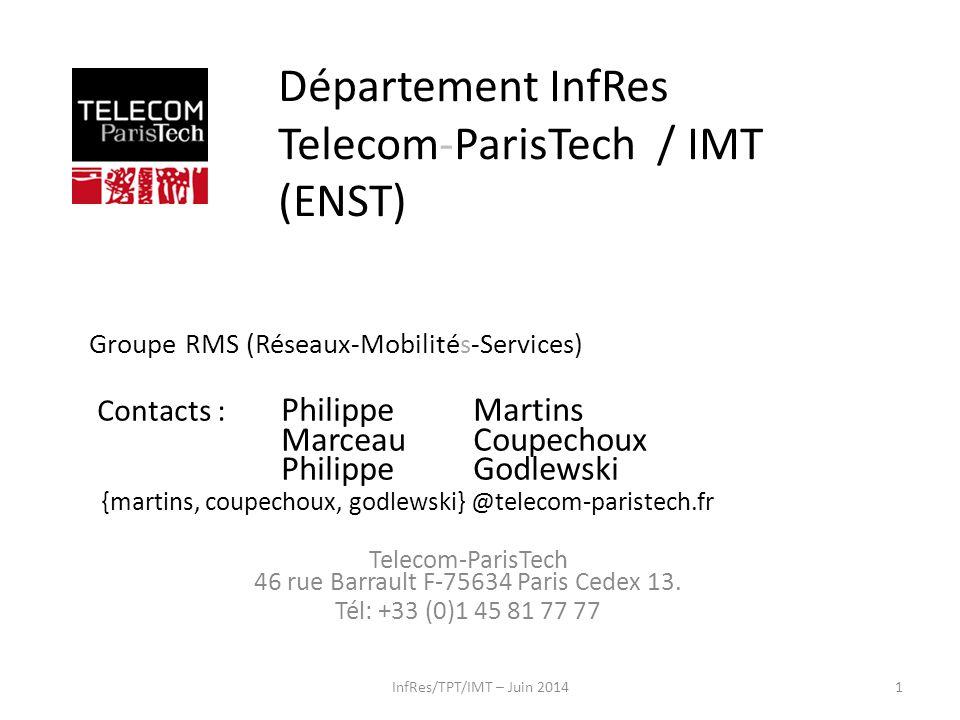 Département InfRes Telecom-ParisTech / IMT (ENST)