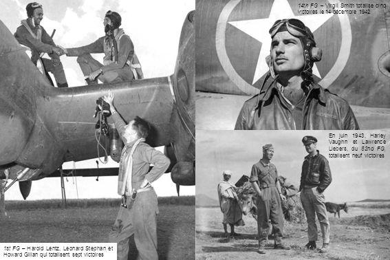 14th FG – Virgil Smith totalise cinq victoires le 14 décembre 1942