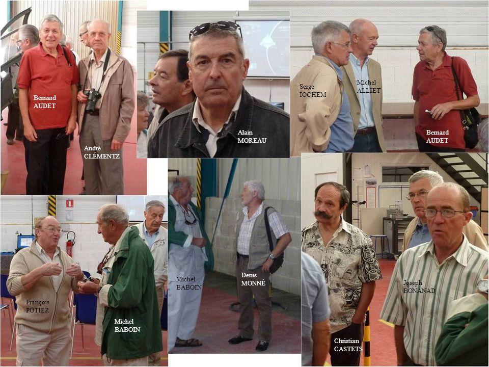 Michel ALLIET. Serge. IOCHEM. Bernard AUDET. Alain. MOREAU. Bernard. AUDET. André. CLÉMENTZ.