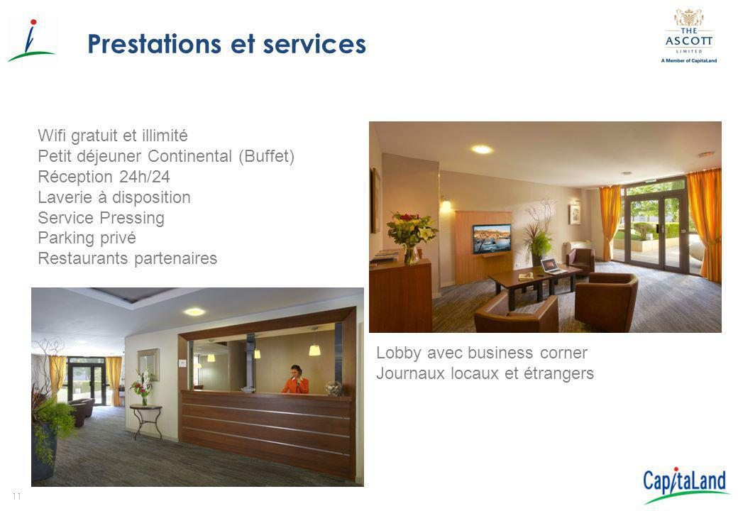 Prestations et services