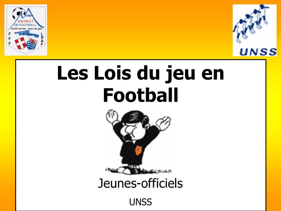 Les Lois du jeu en Football