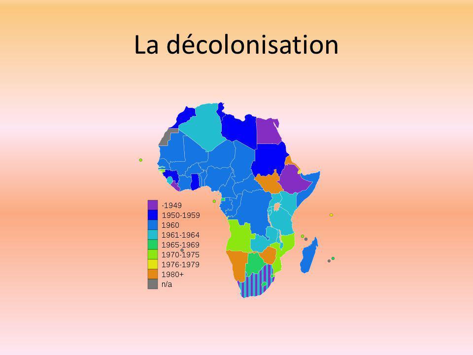 La décolonisation