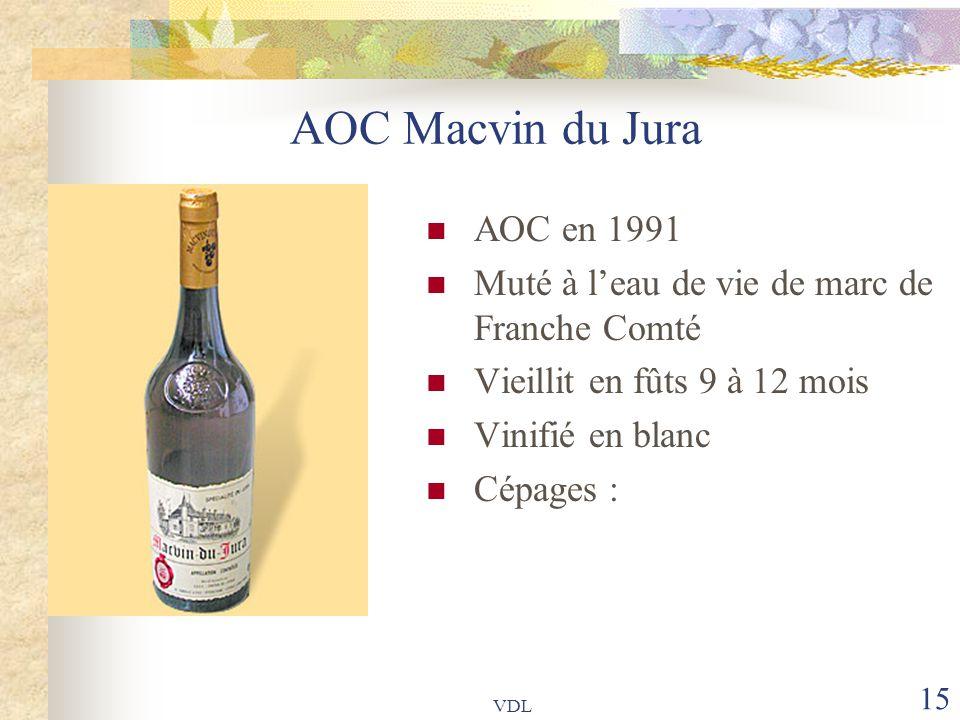 AOC Macvin du Jura AOC en 1991