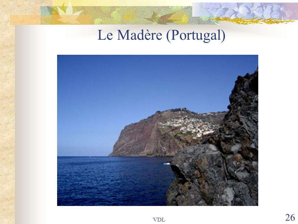 Le Madère (Portugal) VDL