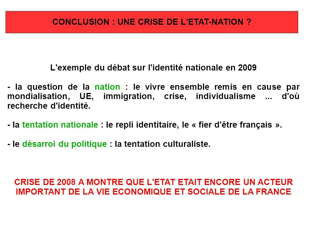 L exemple du débat sur l identité nationale en 2009