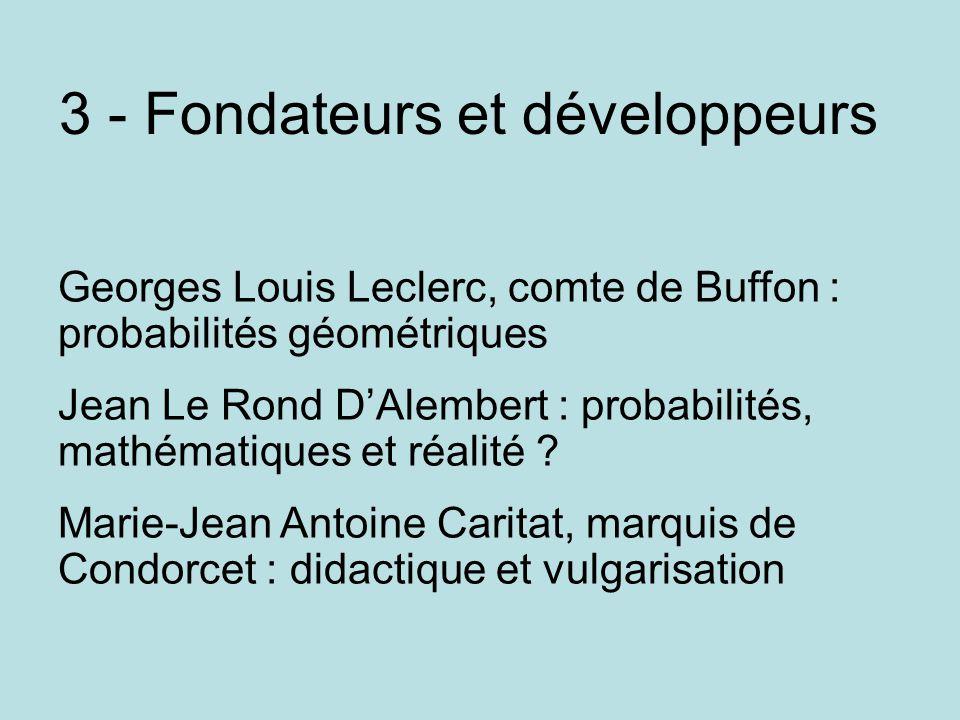 3 - Fondateurs et développeurs
