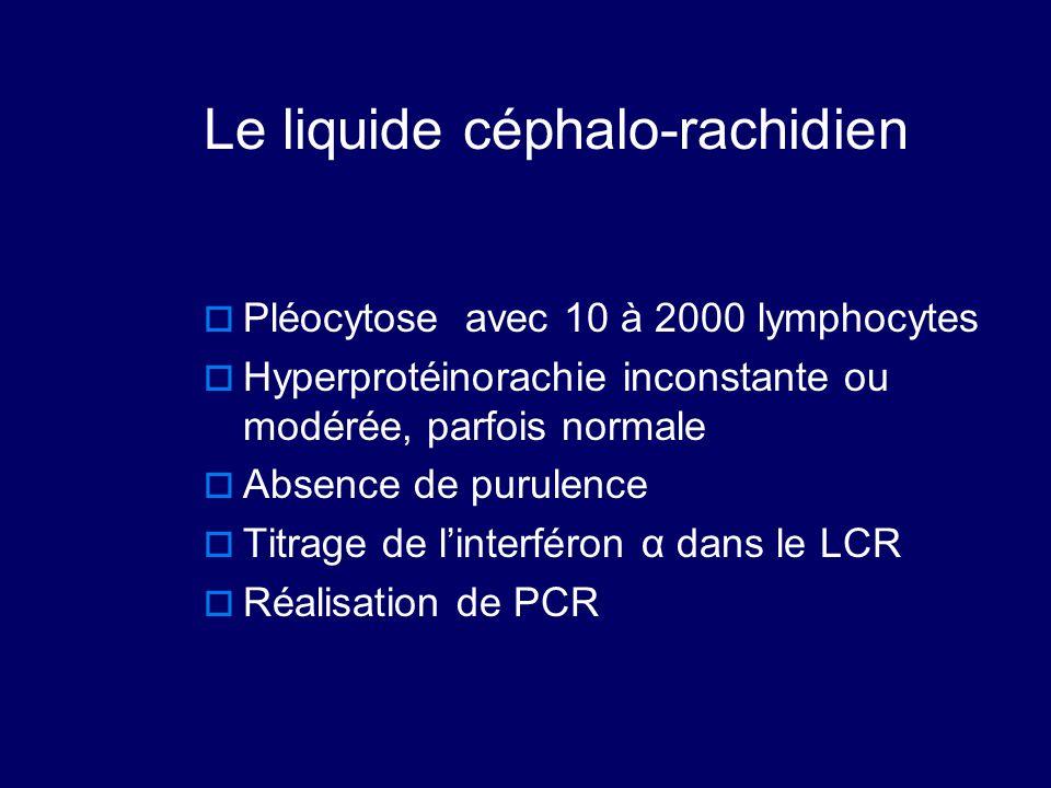 Le liquide céphalo-rachidien