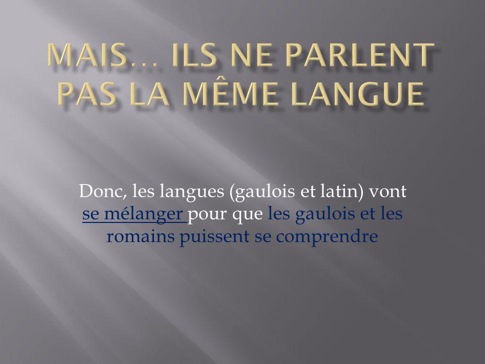 mais… ils ne parlent pas la même langue