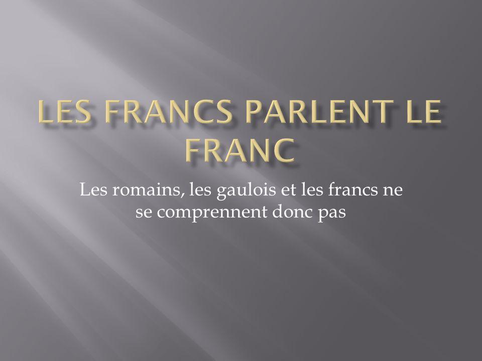 Les francs parlent le franc