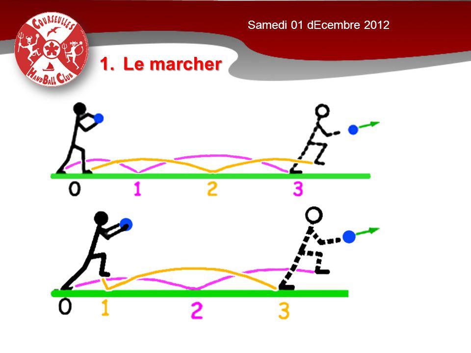 Samedi 01 dEcembre 2012 Le marcher