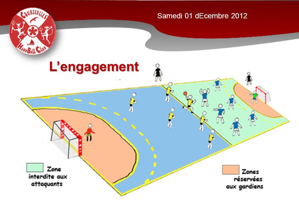 Samedi 01 dEcembre 2012 L'engagement