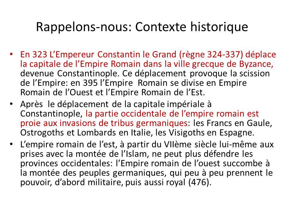 Rappelons-nous: Contexte historique