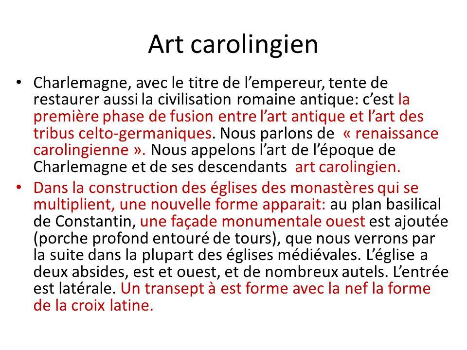 Art carolingien