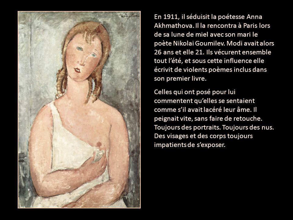 En 1911, il séduisit la poétesse Anna Akhmathova