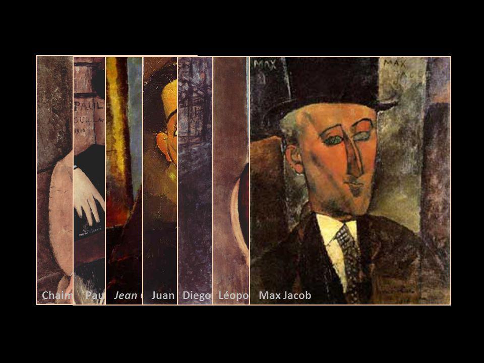 Chaim Soutine Paul Guillaume Jean Cocteau Juan Gris Diego rivera Léopold Zborowski, Max Jacob