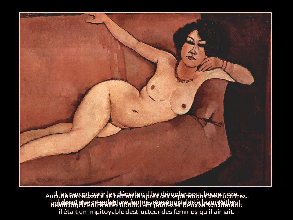 Il disait que peindre une femme nue équivalait à la posséder.