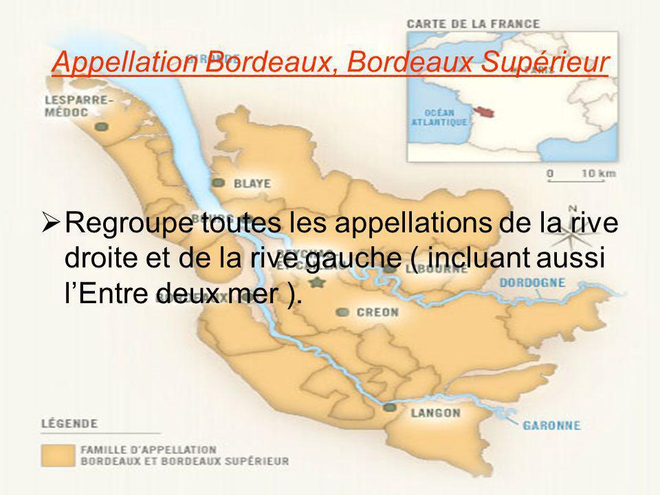 Appellation Bordeaux, Bordeaux Supérieur