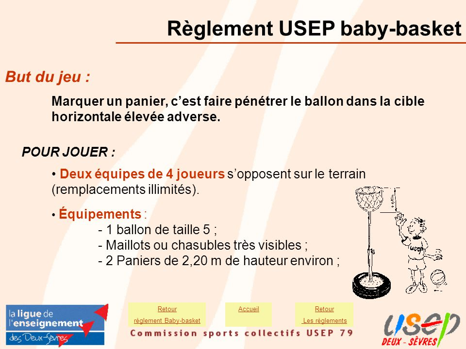 règlement Baby-basket