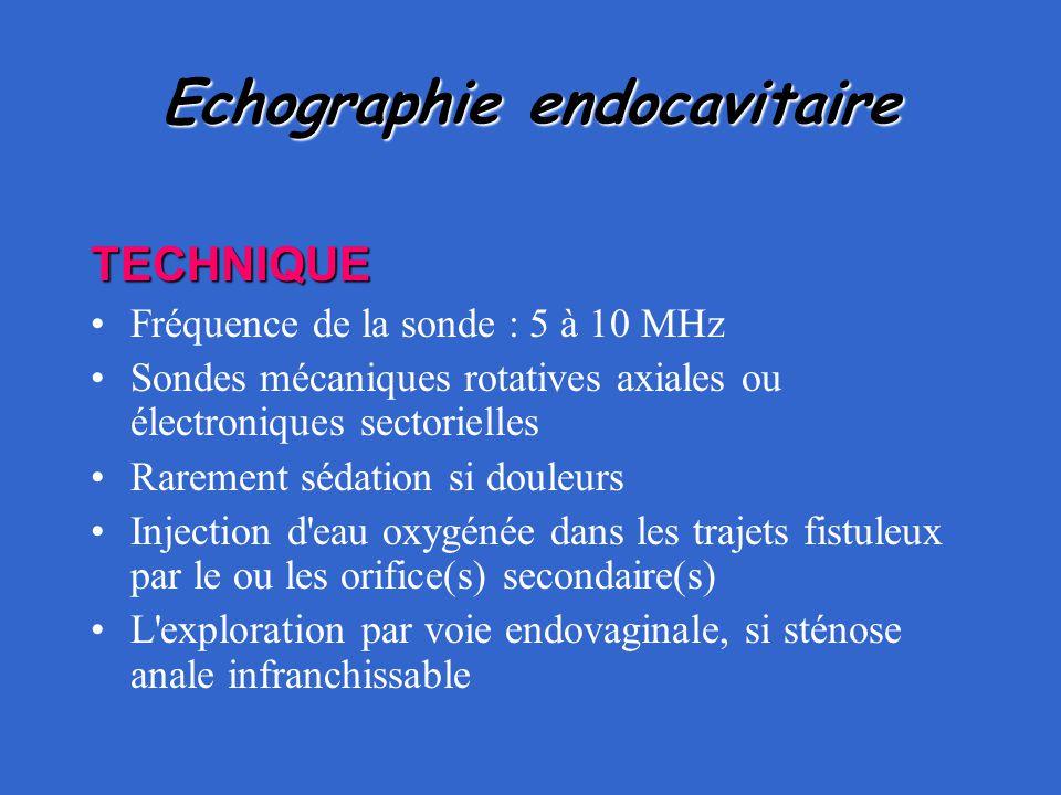Echographie endocavitaire