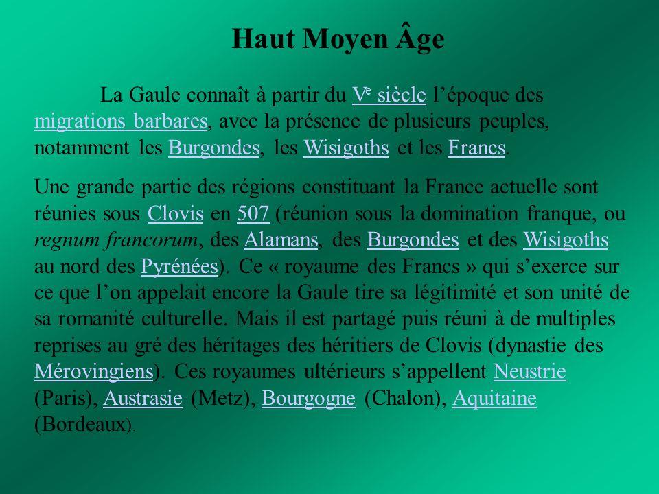 Haut Moyen Âge