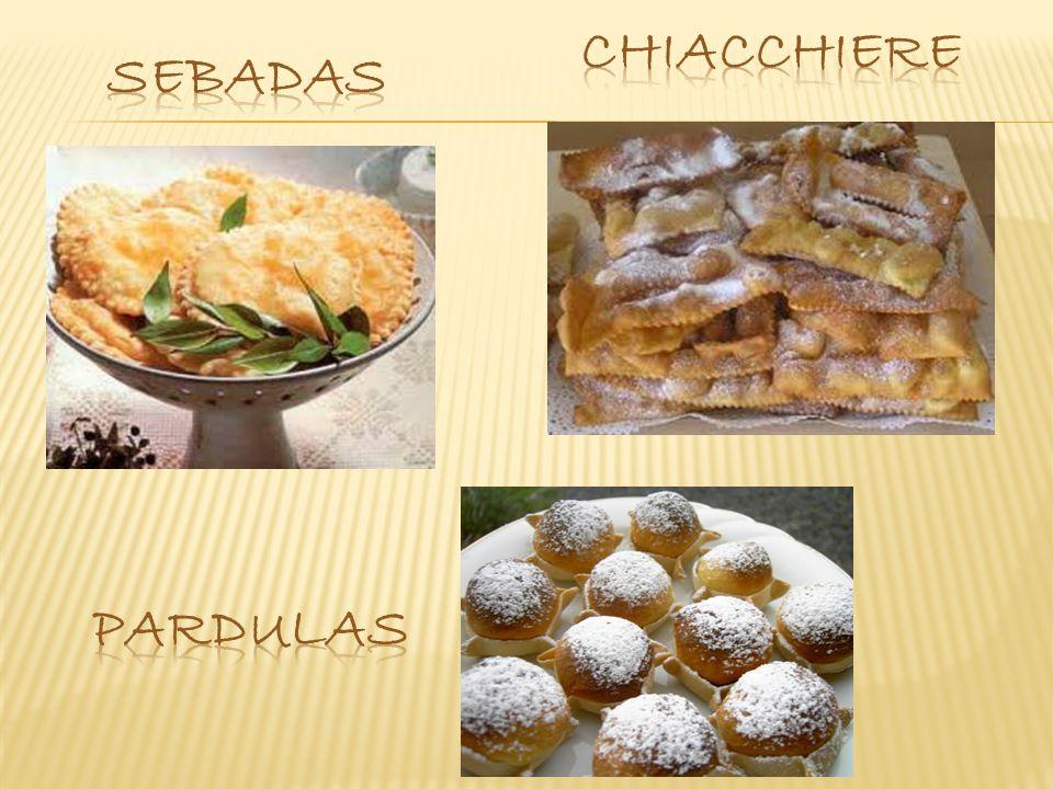 CHIACCHIERE SEBADAS PARDULAS