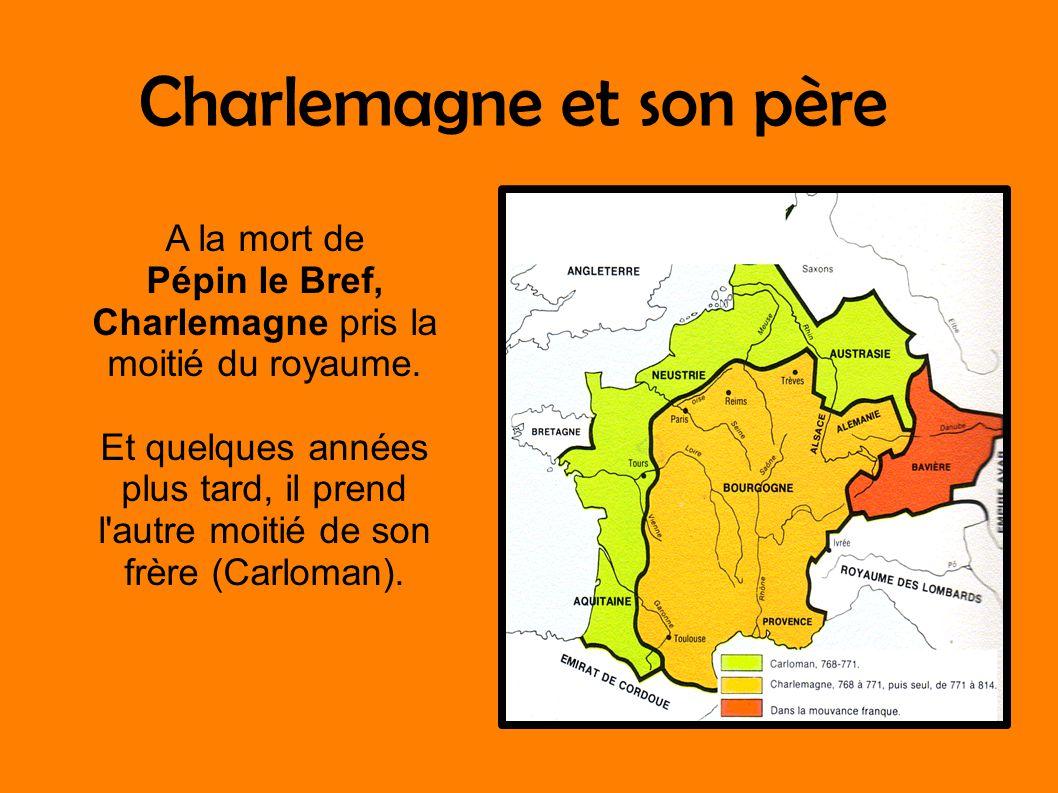 Charlemagne et son père