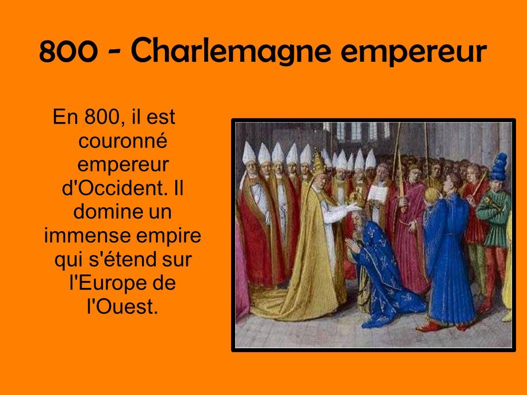 800 - Charlemagne empereur