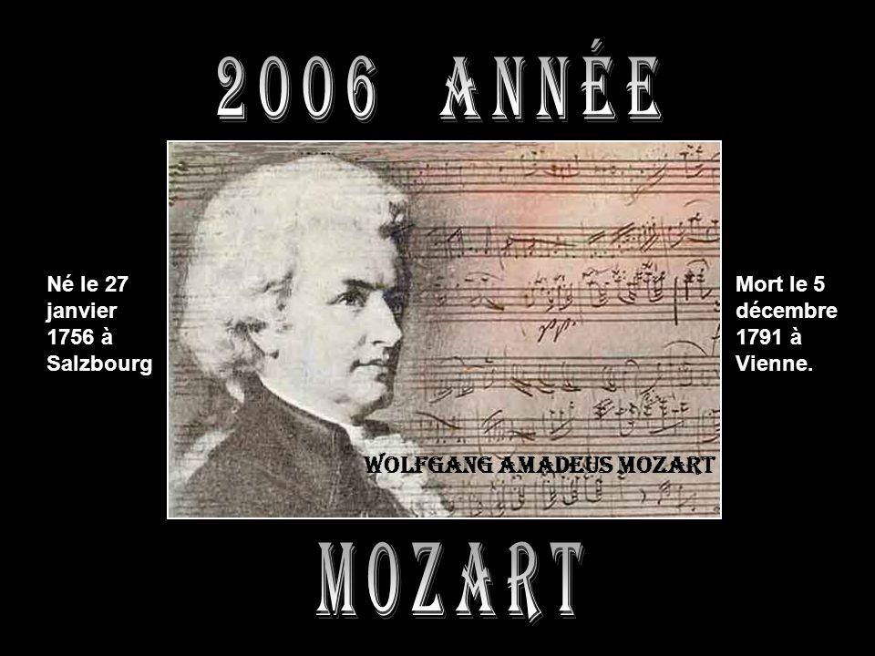 2006 année mozart Wolfgang amadeus mozart