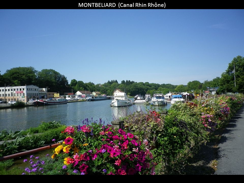 MONTBELIARD (Canal Rhin Rhône)