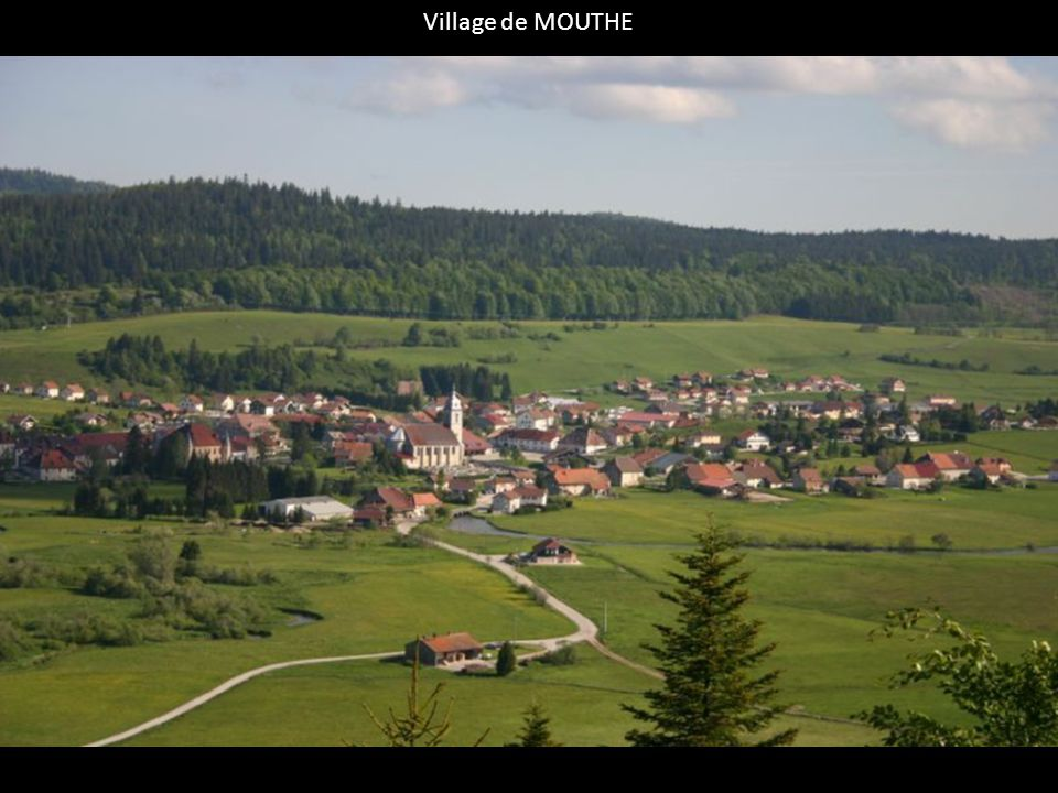 Village de MOUTHE