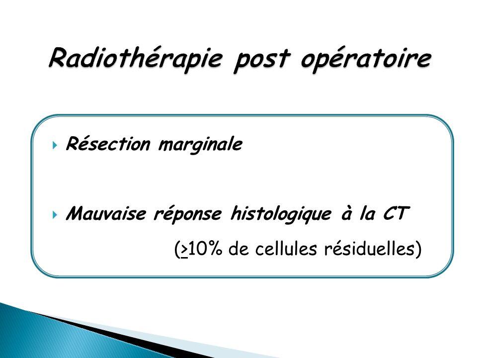 Radiothérapie post opératoire