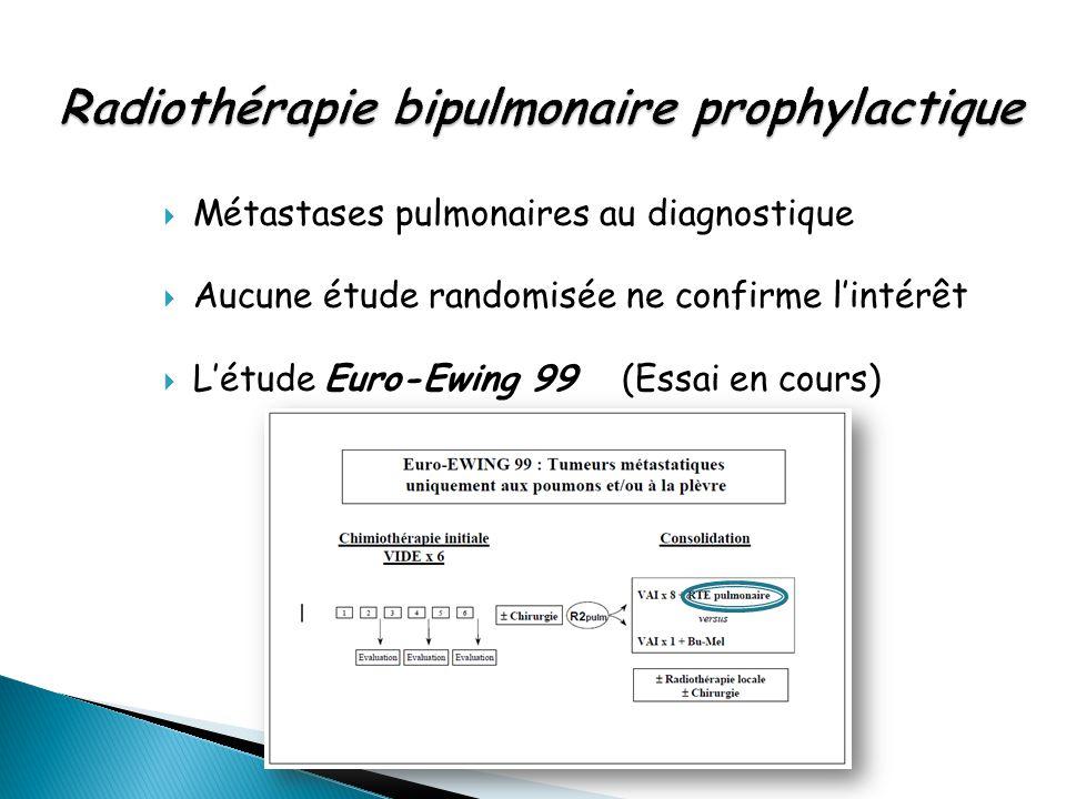 Radiothérapie bipulmonaire prophylactique